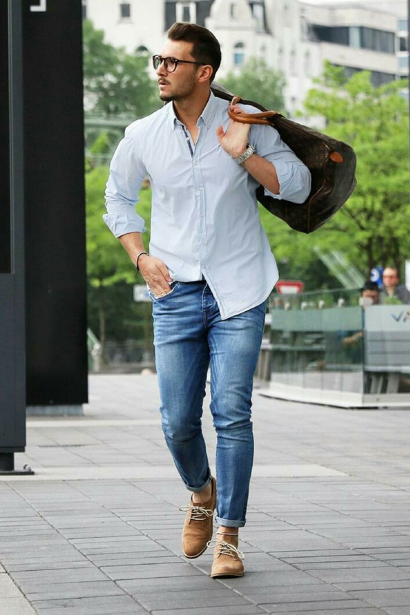 Stylish mens casual shirts forecasting dress in winter in 2019