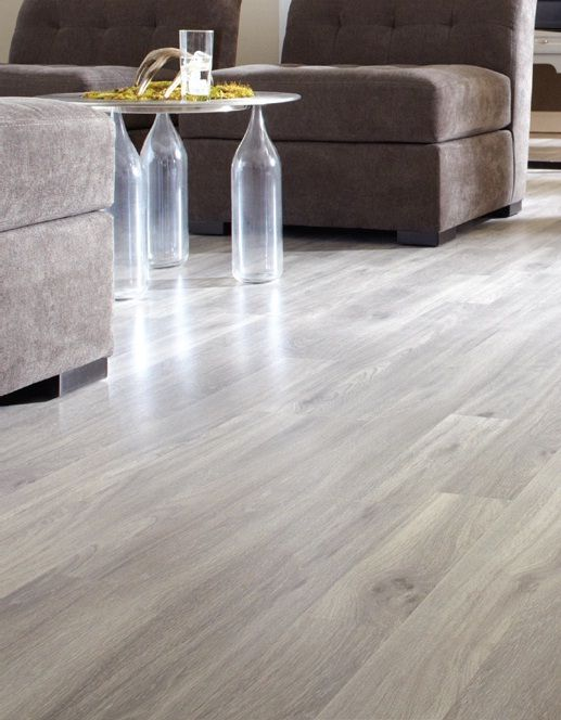Laminate Floor In A Dockside Oak Colour With A Premium