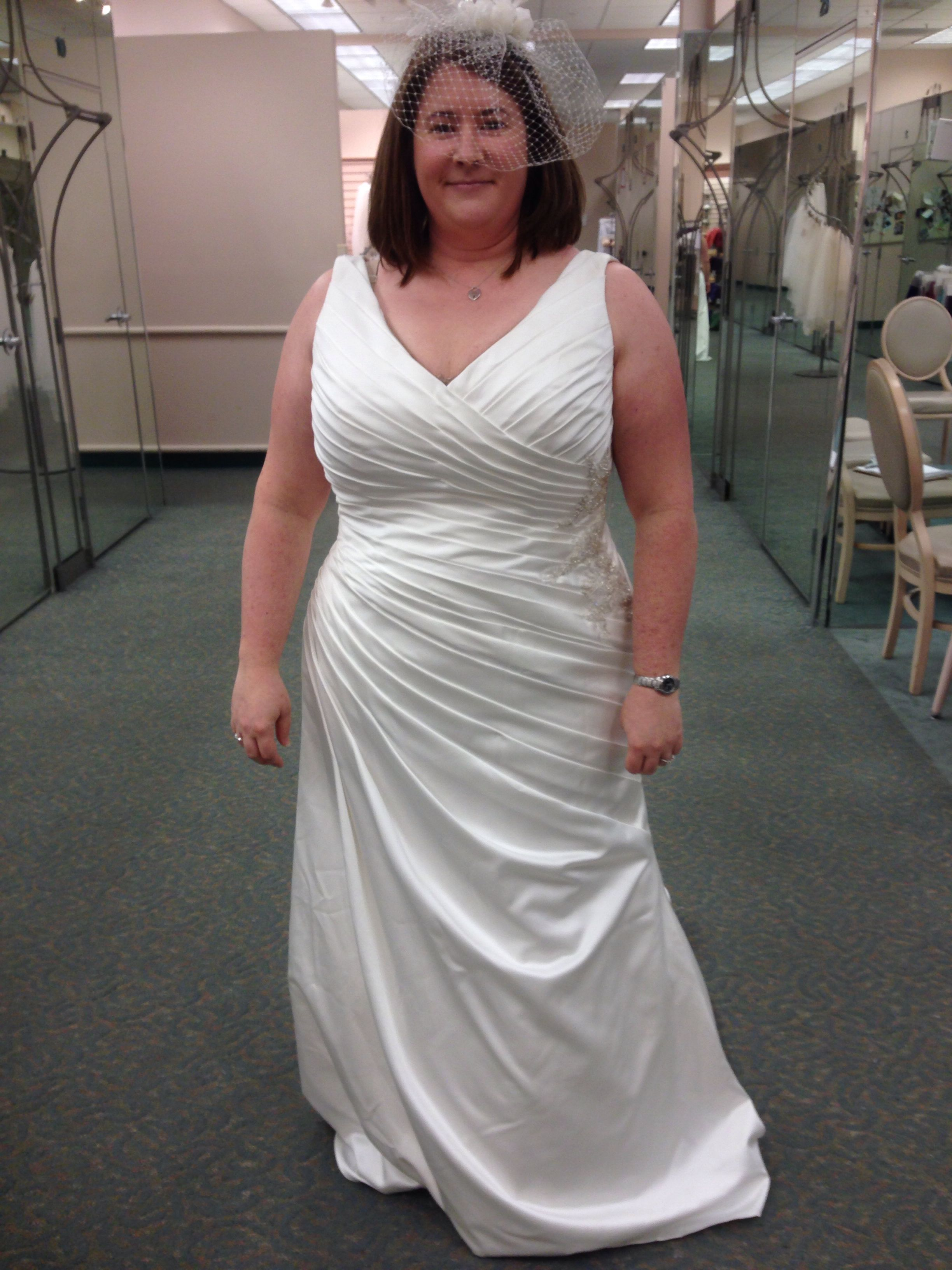 My actual dress! Picked it up today!