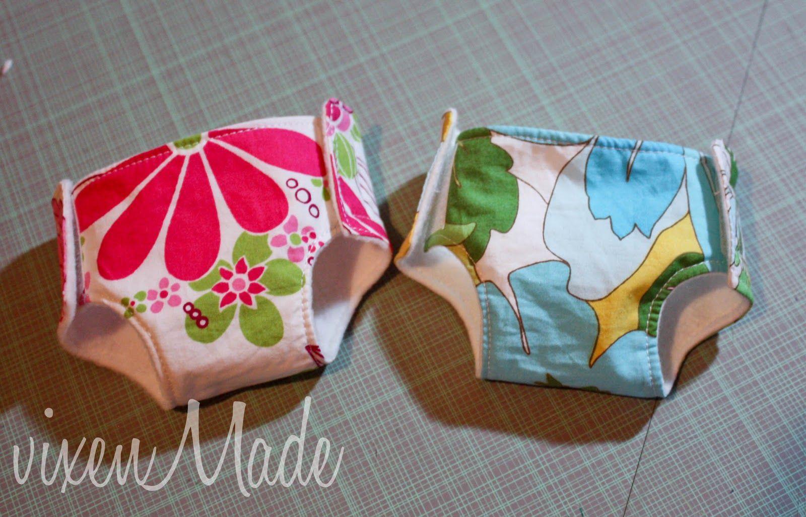 Baby Doll Diaper Tutorial