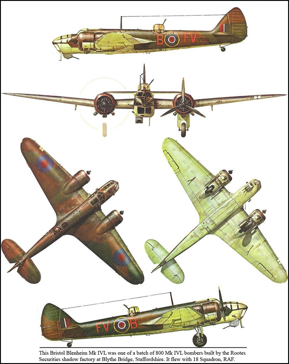Bristol Blenheim MK IVL