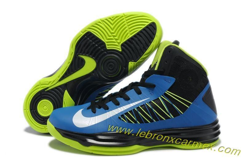 new styles 8258b eef24 ... low cost nike lunar hyperdunk 2013 black blue neon green for men  basketball shoes release 6d1c9