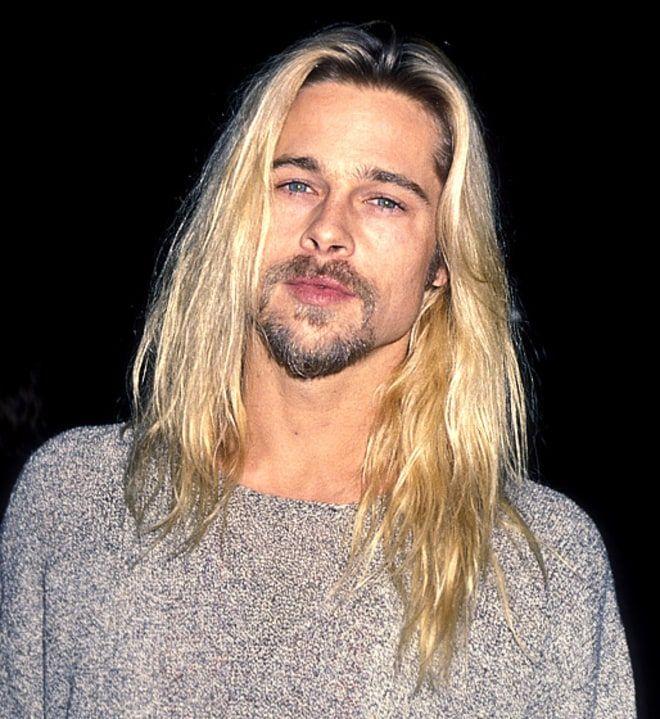 Nov 30 1994 Brad Pitt Brad Pitt Hair Long Hair Styles Men