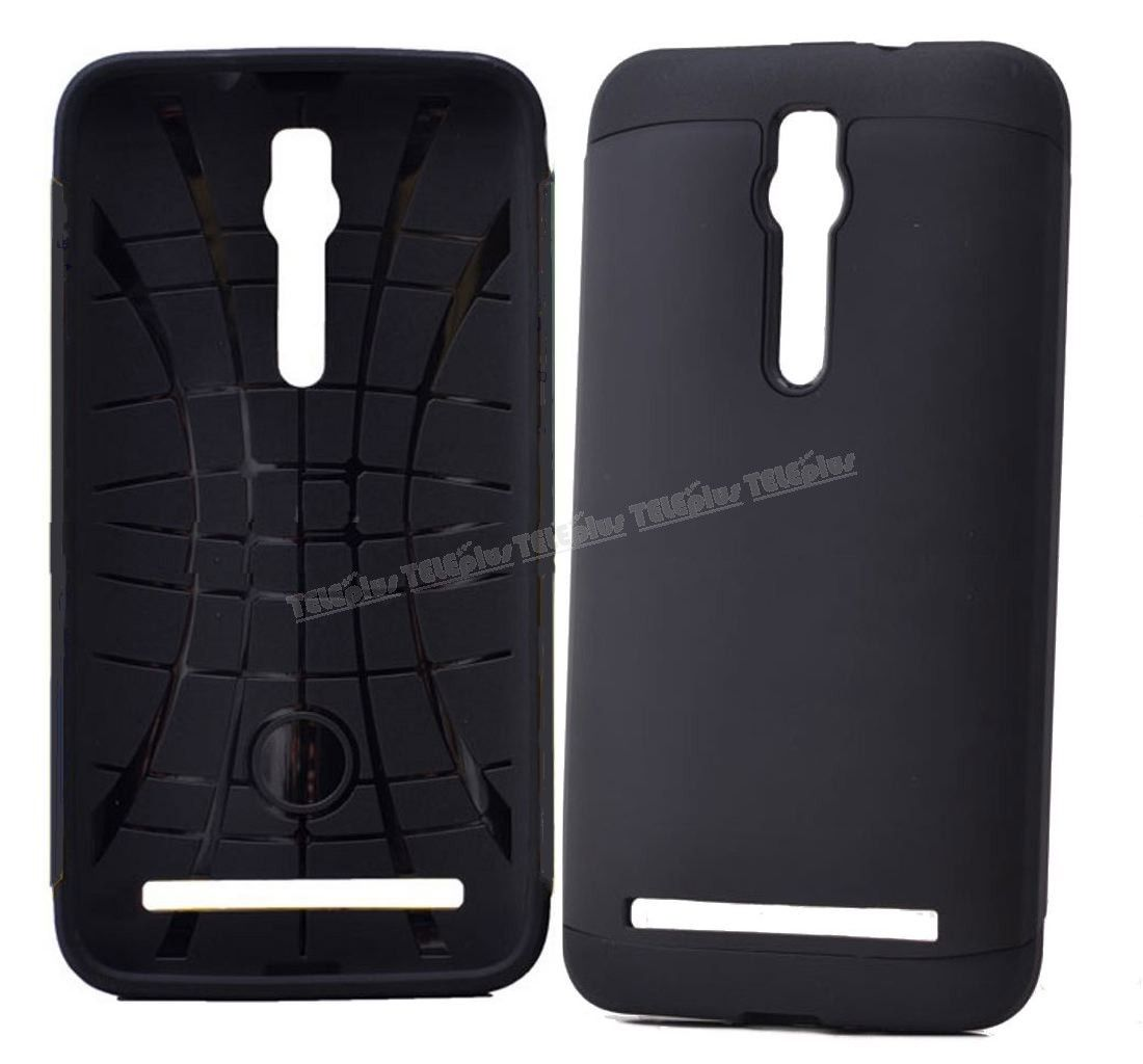 Asus Zenfone 2 Çift Katmanlı Korumalı Kılıf Siyah -  - Price : TL27.90. Buy now at http://www.teleplus.com.tr/index.php/asus-zenfone-2-cift-katmanli-korumali-kilif-siyah.html
