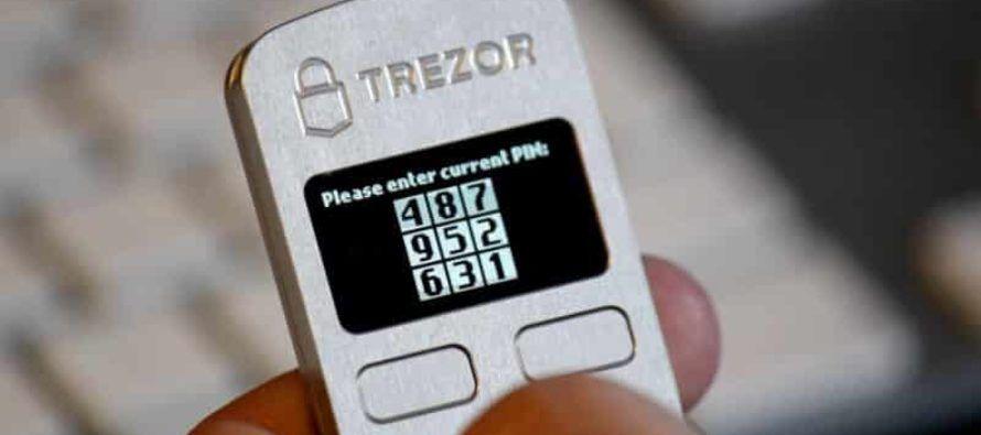 Trezor Hardware Wallet The original & most secure