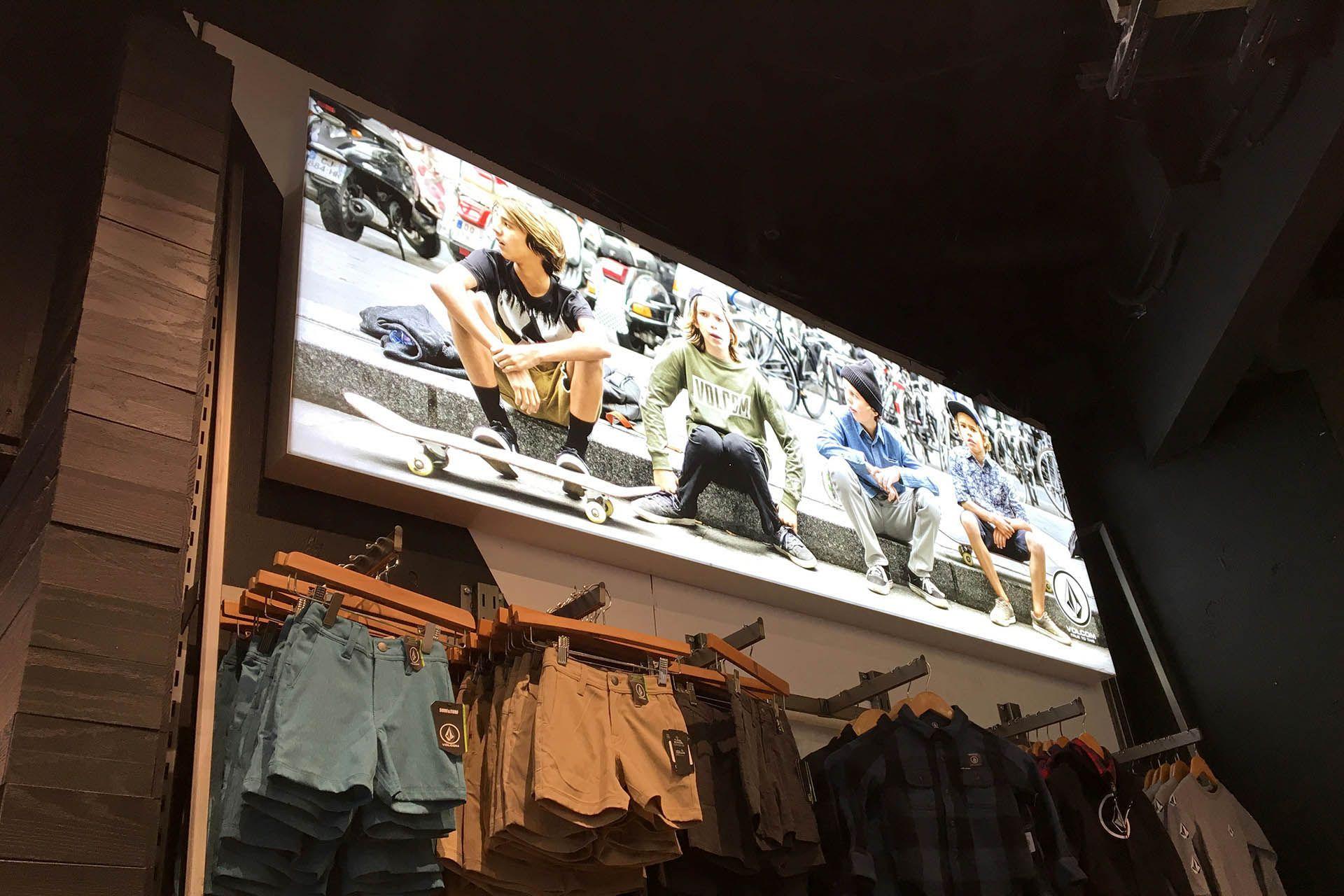Retail Special Bright Textile Backlit Light Box Frame