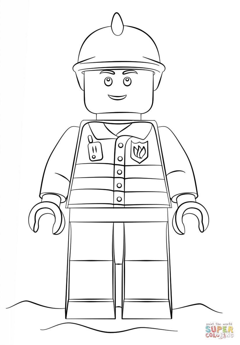 25 Amazing Image Of Fireman Coloring Pages Davemelillo Com Lego Coloring Pages Lego Coloring Lego Pictures