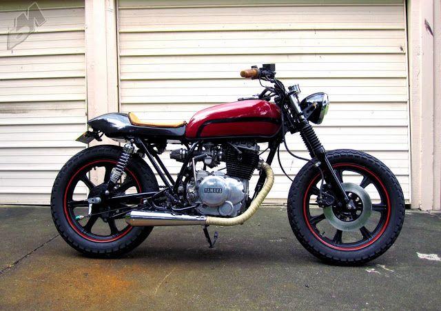 yamaha xs250 tracker | café racers | pinterest | vintage motorcycles