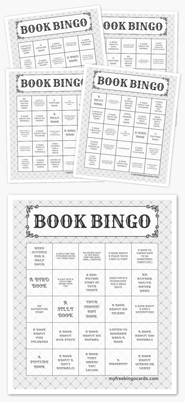 Free Printable Bingo Cards | Harry potter activities ...