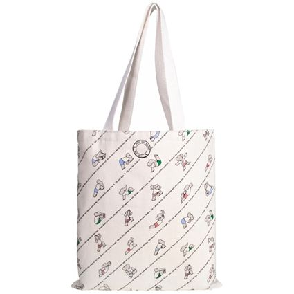a377ede3721 Babar's Yoga for Elephants tote bag | My Style | Canvas book bag ...