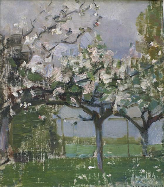 Piet Mondrian Bluhende Apfelbaume Blossoming Apple Trees In 2020 Mondrian Art Mondrian Piet Mondrian