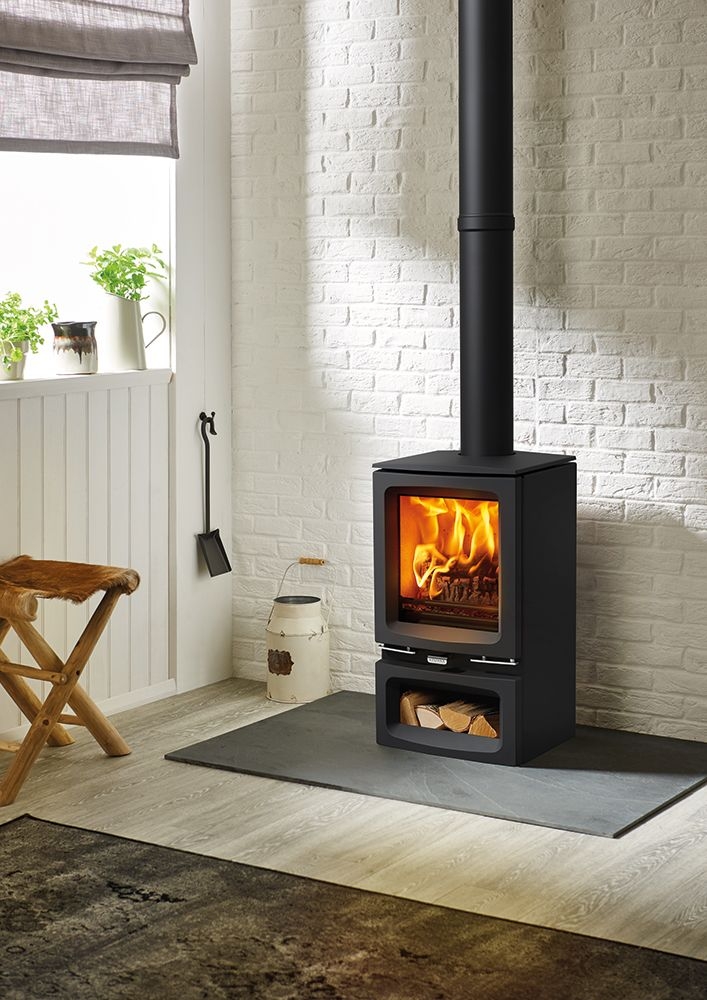 Wood Stove Living Room Design: Vogue Small Wood Burning & Multi-fuel Stoves
