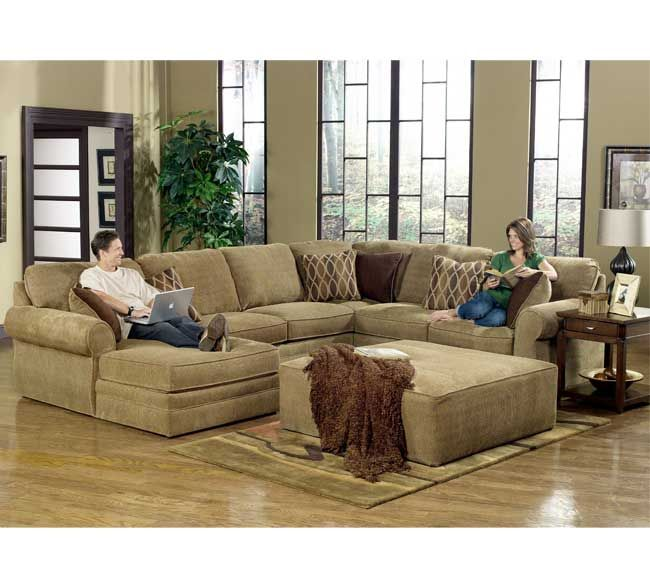I Really Like The Configuration Of This Sectional With The Large Ottoman I Even Sectional Sofa With Recliner Oversized Sectional Sofa U Shaped Sectional Sofa