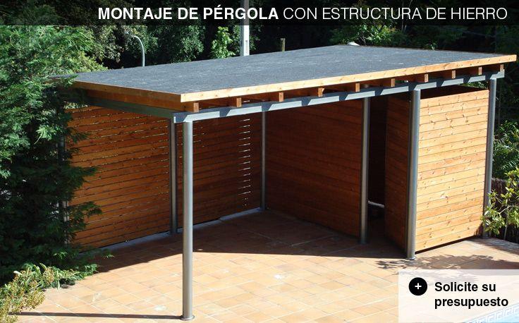Casetas de madera para jard n caseta de madera casetas for Casetas para patios