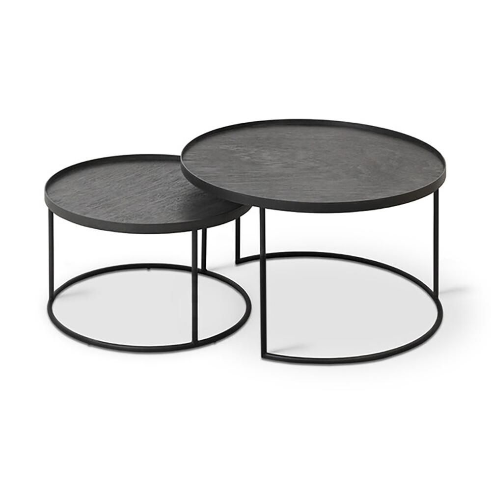 Round Tray Coffee Table Nesting Set In 2021 Coffee Table Setting Coffee Table Nesting Coffee Tables [ 1000 x 1000 Pixel ]