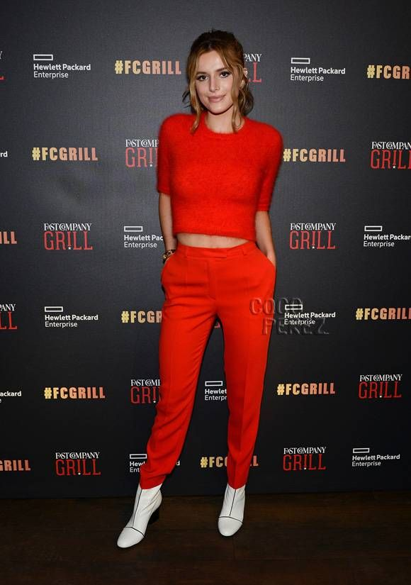 Bella Thorne is red hot in Austin.