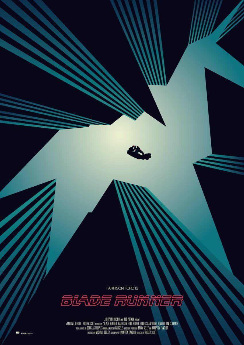 Blade Runner Movie Poster Artist