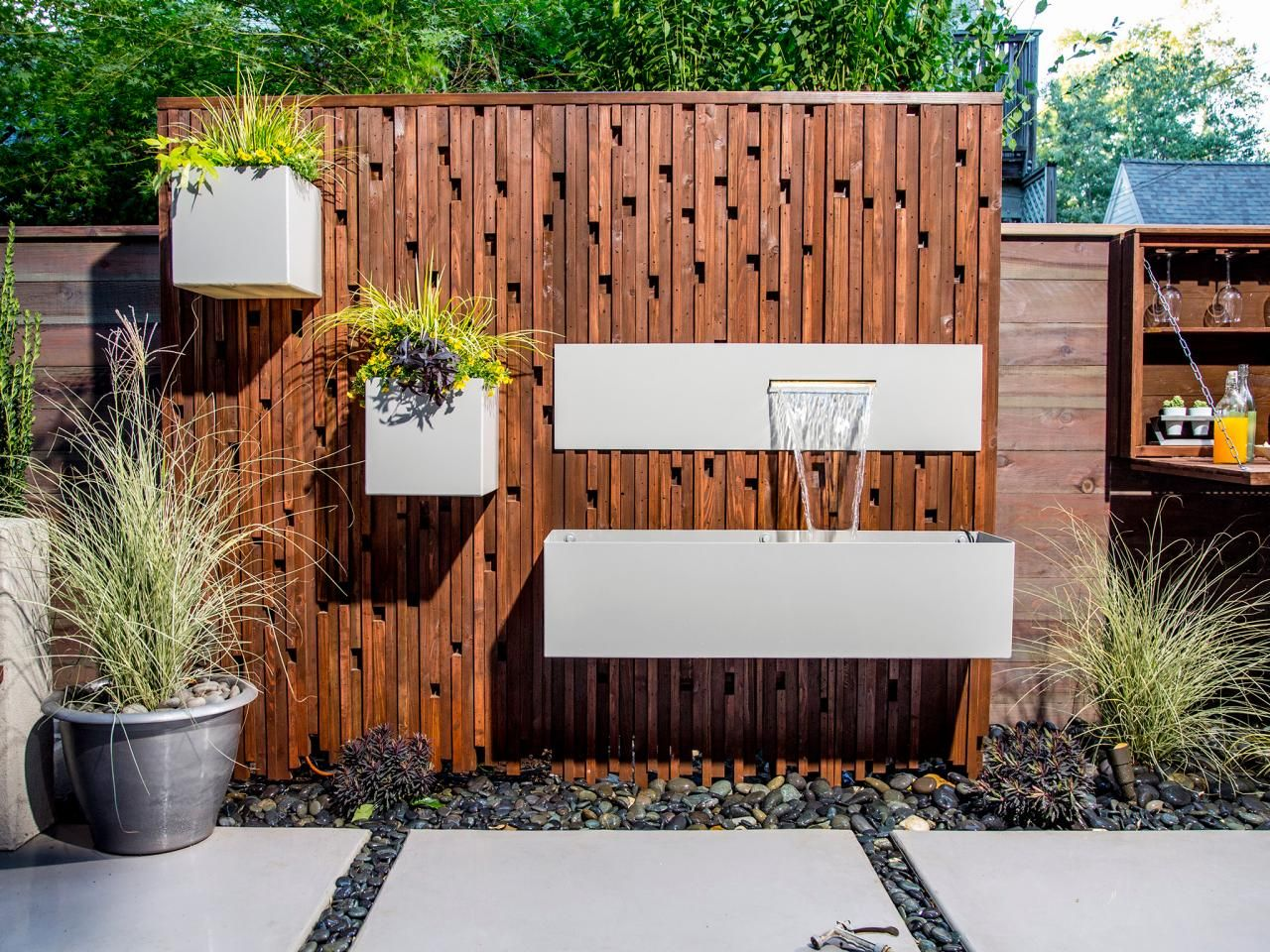 Diy water feature wall - 17 Best Images About Patio Waterfalls On Pinterest Natural Swimming Pools Backyards And Wonderland