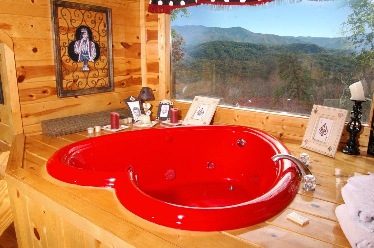 Who is ready for Valentine's Day? BuckNakedLodge Cabin
