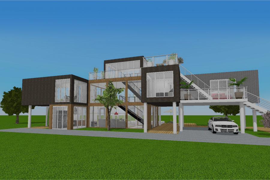 Home Design 3d The Reference Design App On Ios Android Pc And Mac House Design Design Stairs Design