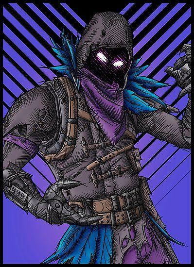 Image result for fortnite artwork fotnite dibujos cuervo y opticas - Dessin corbeau facile ...