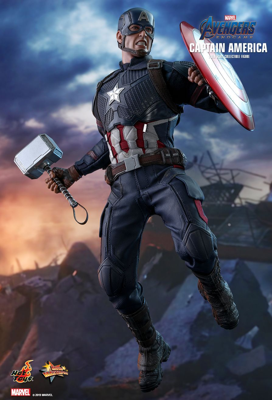 Hot Toys Avengers Endgame Captain America 1 6th Scale Collectible Figure Marvel Collectibles Hot Toys Marvel Heroes