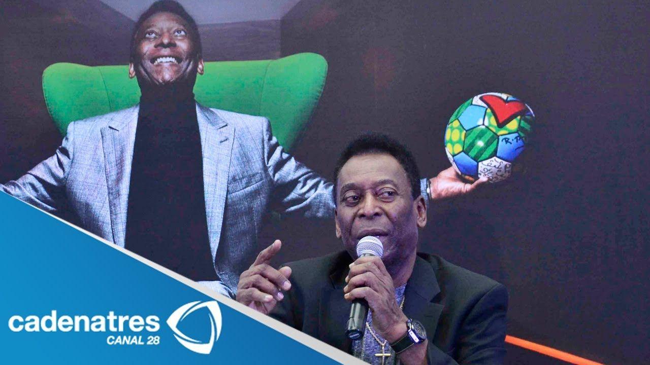 Pelé visita la Ciudad de México y ve a un Tricolor competitivo en el Mundial Brasil 2014