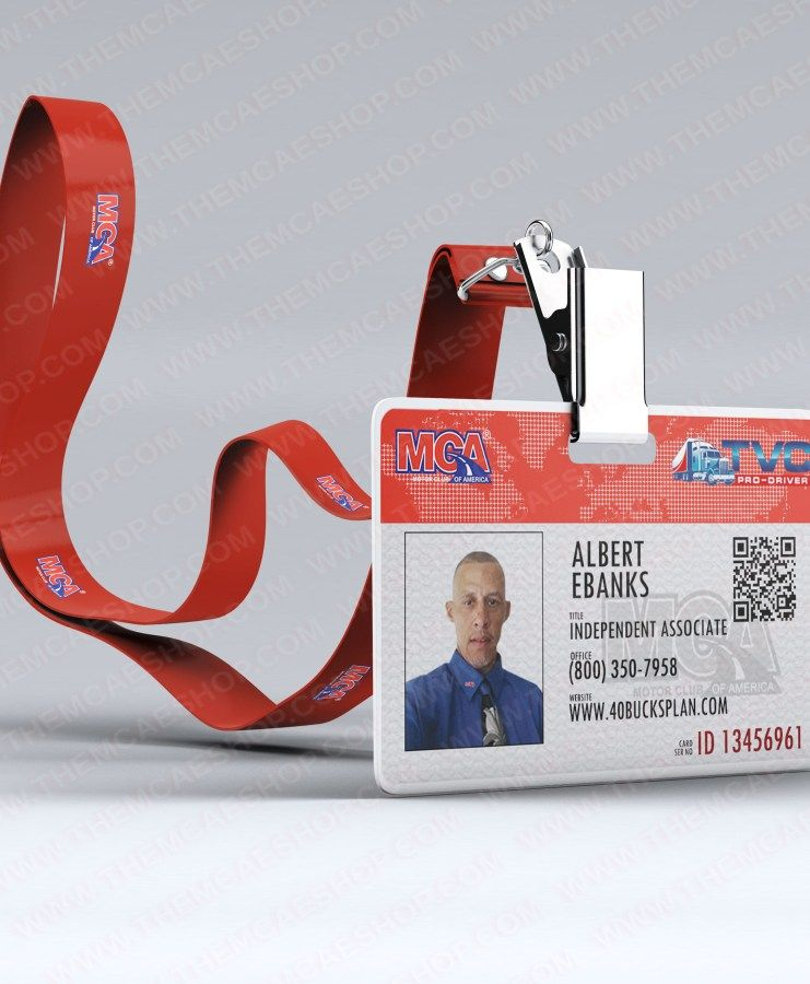 This ID Badge design is a highly detailed, modern and professional - id badge template