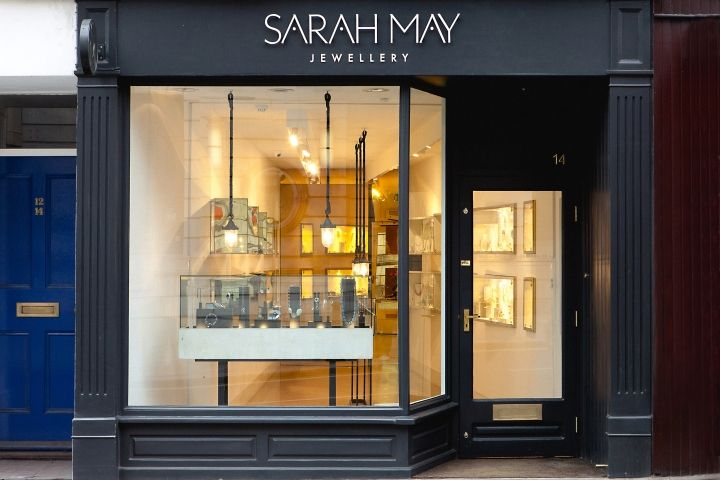 Furniture Showroom Front Elevation : Sarah may jewellery at richmond london uk