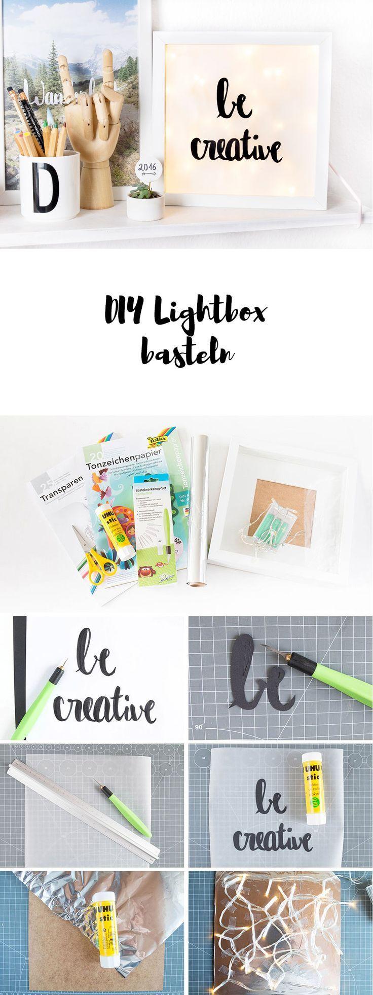 Eine kleine DIY Lightbox | Easy DIYs / Einfache DIYs | Pinterest ...