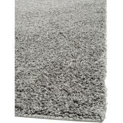 Photo of benuta Essentials Hochflor Shaggyteppich Swirls Dunkelgrau 240×340 cm – Langflor Teppich für Wohnzim
