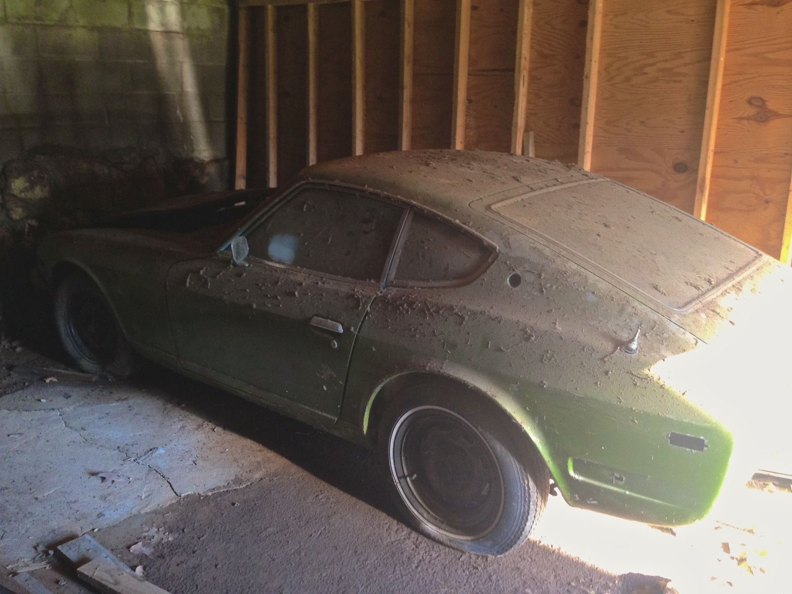 1973 Datsun 240Z Barn Find Project Parts Car