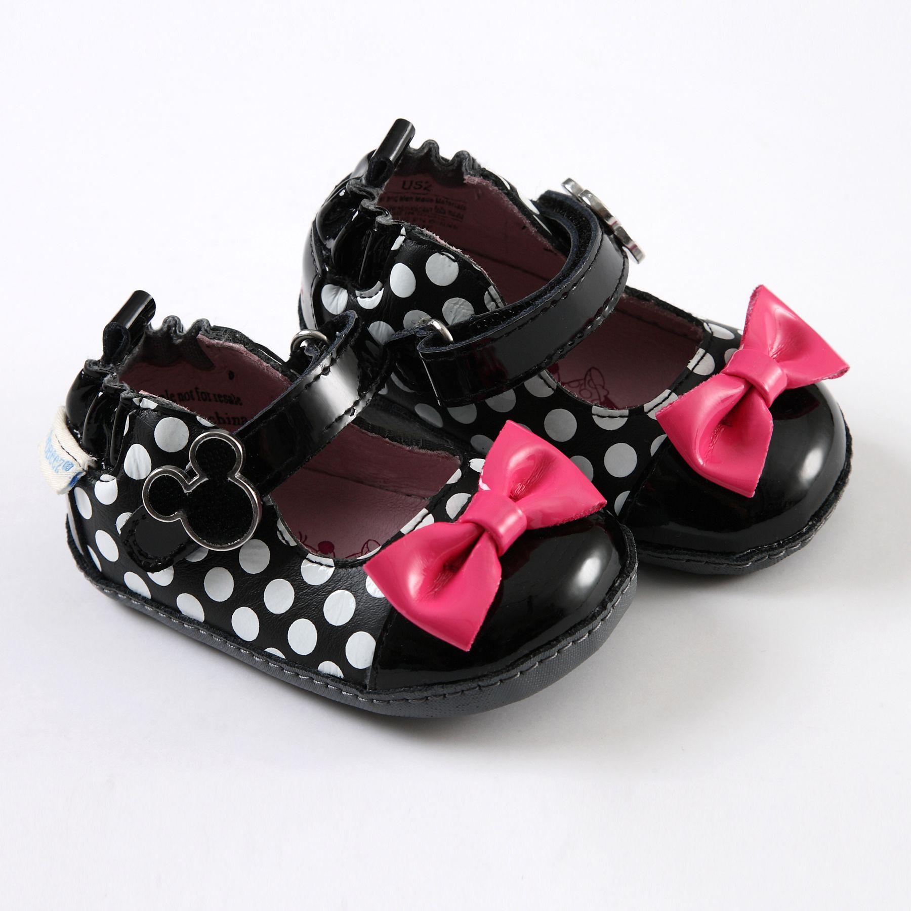 MINNIE MOUSE Robeez Mini Shoez Stride Rite Baby