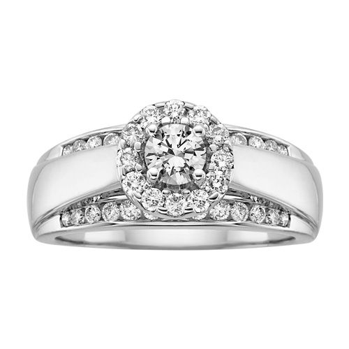 Fred Meyer Jewelers 1 ct tw Diamond Engagement Ring Say I Do