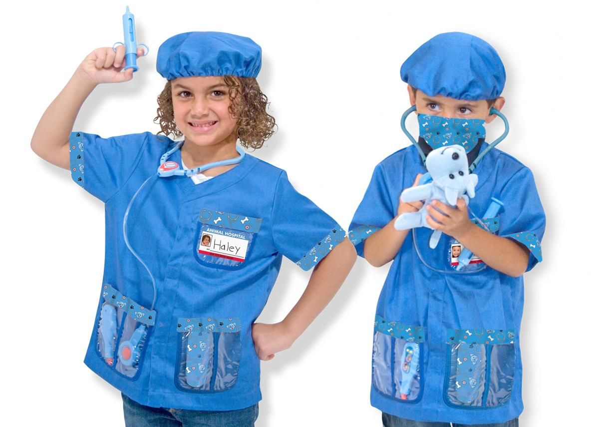 Halloween Costume For 4 Year Old Puppy Animal Doctor