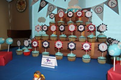 Fabulous Features by Anders Ruff Custom Designs: {Featured Clients} Wyatt's 1st Airplane Birthday Party