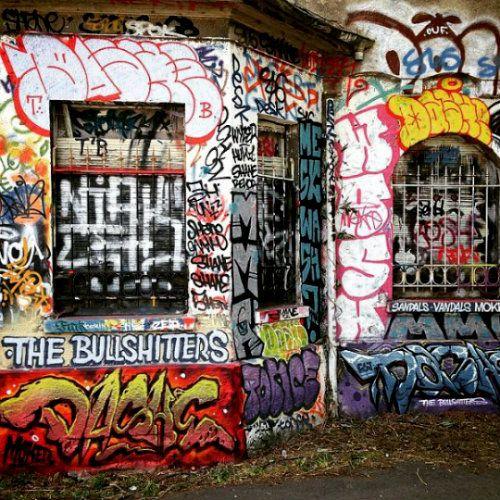 Graffiti in France