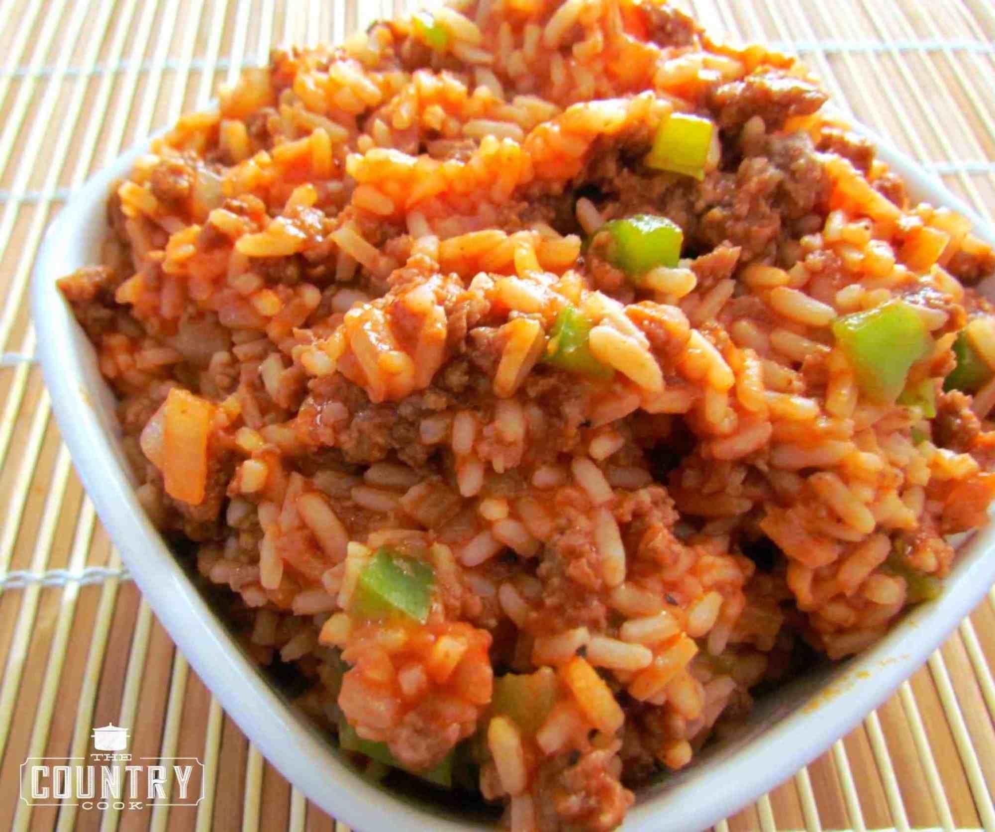 Momma S Spanish Rice Recipe Spanish Rice Spanish Rice Recipe Beef Recipes