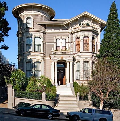 San Francisco Mansions | San Francisco, California is known for its many highly detailed ...