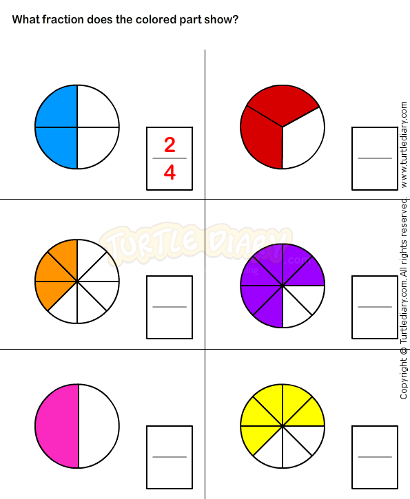 Pin on Fractions Worksheets