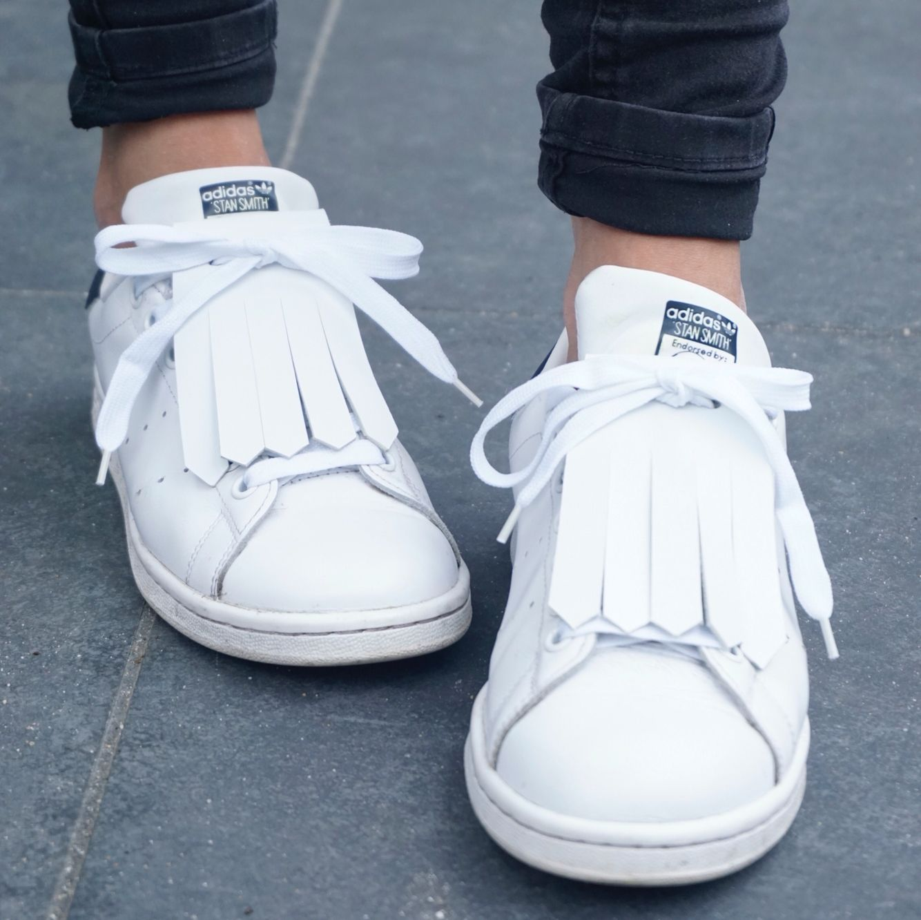 Kiltie white • Adidas Stan Smith •