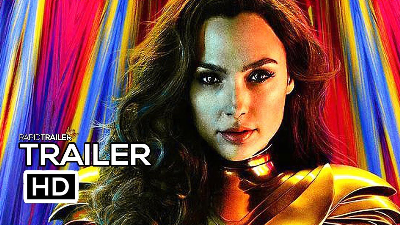 Wonder Woman 2 1984 Official Trailer 2020 Gal Gadot Chris Pine Superhero Movie Hd Youtube Superhero Movies Gal Gadot Chris Pine