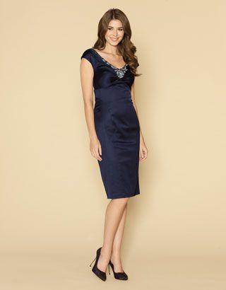 cutenfanci.com navy cocktail dress (09) #cocktaildresses   Dresses ...