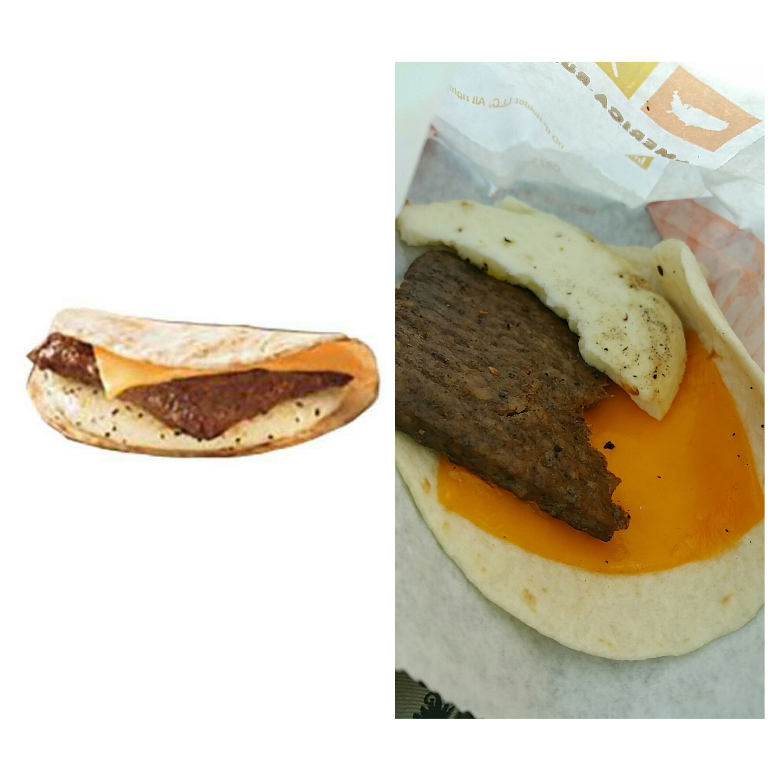 Egg And Cheese Wrap Dunkin Donuts