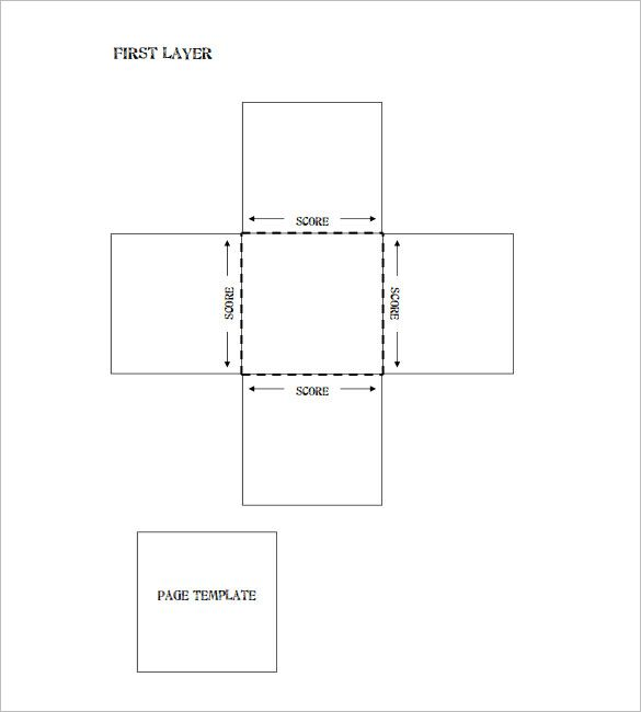 Exploding Box Template 20 Free Psd Pdf Format Download Box