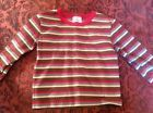 HANNA ANDERSSON 90 toddler Boys 2-3T Striped Long Sleeve Tshirt EUC - http://clothing.goshoppins.com/baby-toddler/hanna-andersson-90-toddler-boys-2-3t-striped-long-sleeve-tshirt-euc/