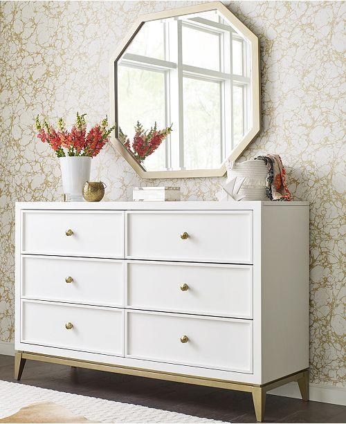 Best Furniture Rachael Ray Chelsea Kids 6 Drawer Dresser 400 x 300