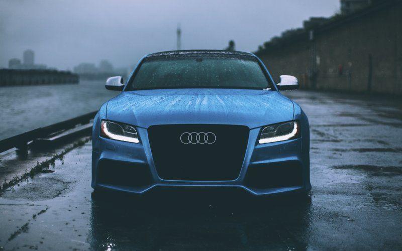 Wallpaper Audi Rs5 Rain Outdoor Front Cars Audi S5 Audi