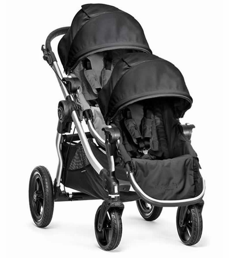 Baby Jogger City Select Double Stroller - Gray/Black in ...