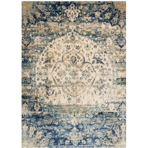 Found It At Wayfair Supply Arthur Blue Ivory Area Rug In